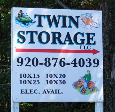 Twin Storage Units | Conover/Phelps/Eagle River Wisconsin